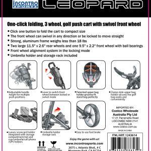 Leopard Costco Au Exclusive Model By Incontro Sports Inc Caddytek